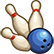 Bowling Dovednost Ikona